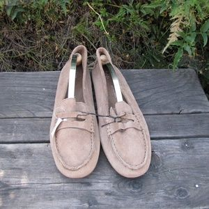 Womens Gap Suede Driver Moccasins Loafer Shoes 10